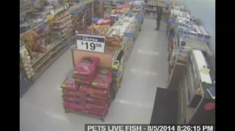 Video of Police Wal-Mart Shooting Released