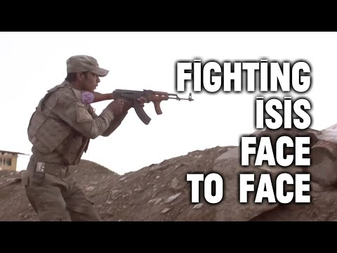 Fighting ISIS: Combat So Close You Can Hear Their Voices