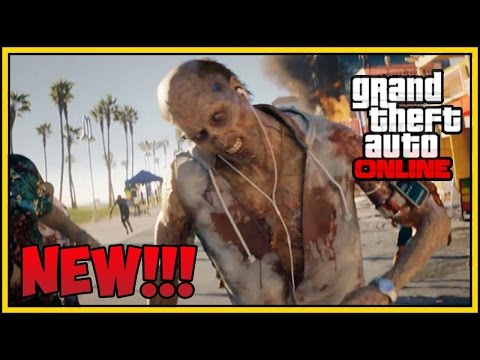GTA 5 Online - Zombie Apocalypse Mission ! (GTA 5 Funny Moments)