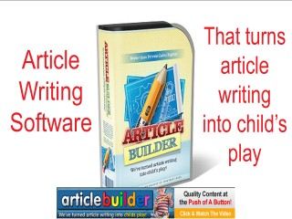 Article Generating Software - How To Builde An Article With Article Builder
