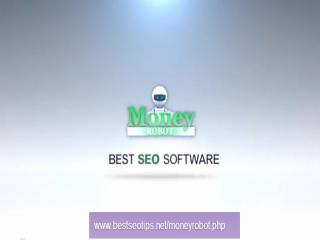Money Robot - Amazing SEO Tool