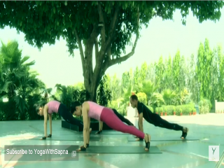 surya namaskar and it's variations with music