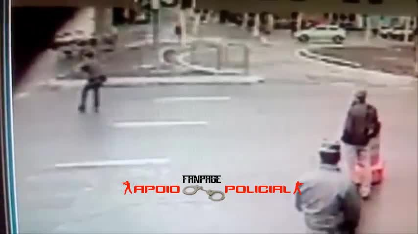 Military police was hit, but the thieves did not escape
