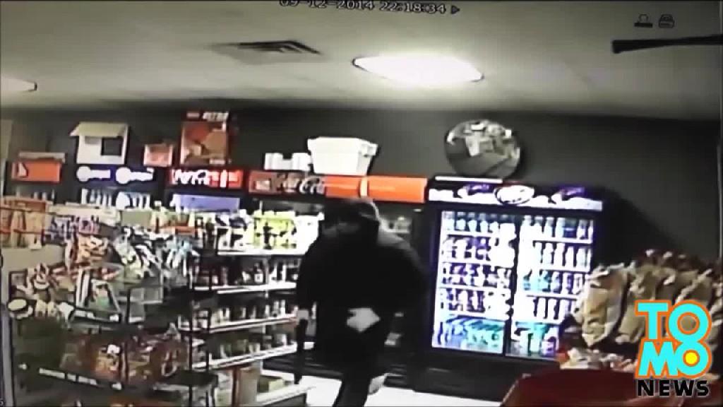 Instant Justice: Store Clerks Son Kills Shotgun Wielding Robber