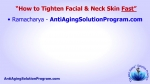 How to Tighten Facial Skin Fast & Naturally