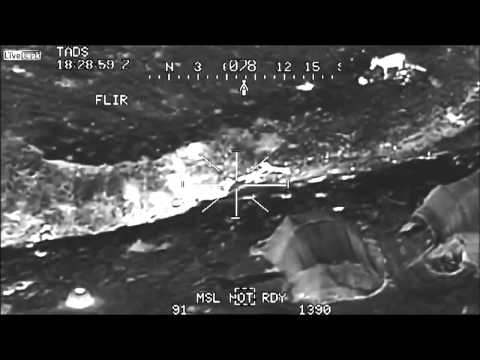 Incredible!! Isis being taken out by US Helicopters/Drones at night. Happening now! Not on the news!