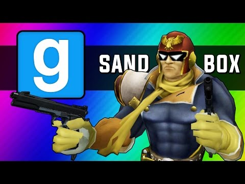 Gmod Sandbox Funny Moments - Go Home Go Bed, Helicopters, Fast & Slow Motion Mod (Garrys Mod)