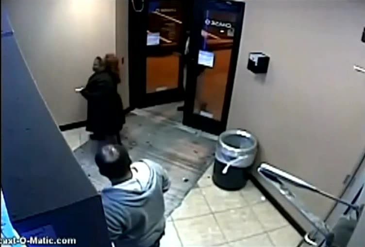 Overly helpful woman at ATM attacked, bit, and robbed