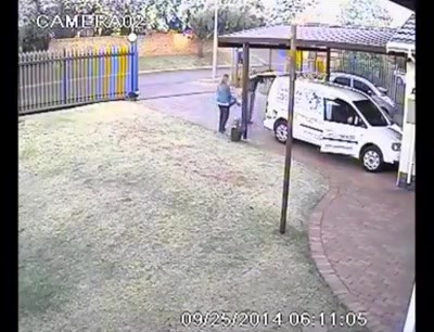 Armed robbery with twist ending