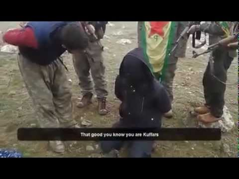 Kurdish YPG capture ISIS & show him his Crimes (English)